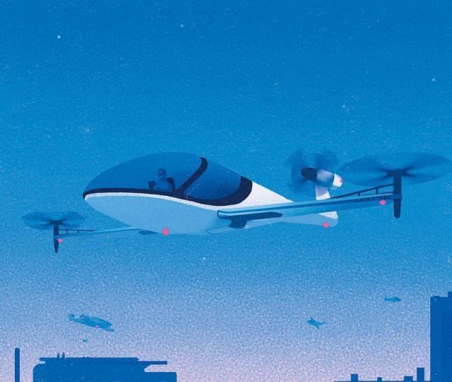 Flying Cars Are On The Horizon