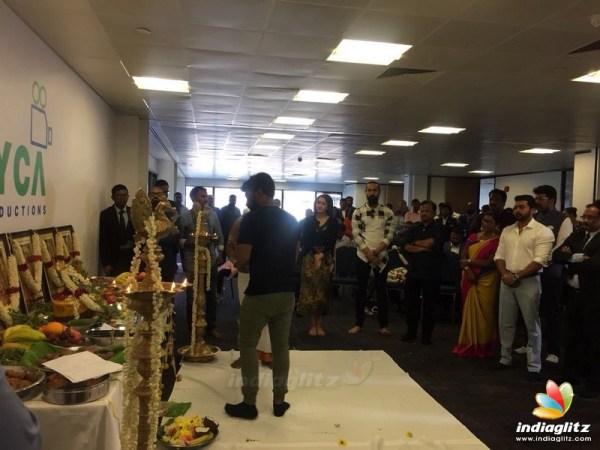 Events - Suriya 37 : Movie Pooja in London Movie Launch ...