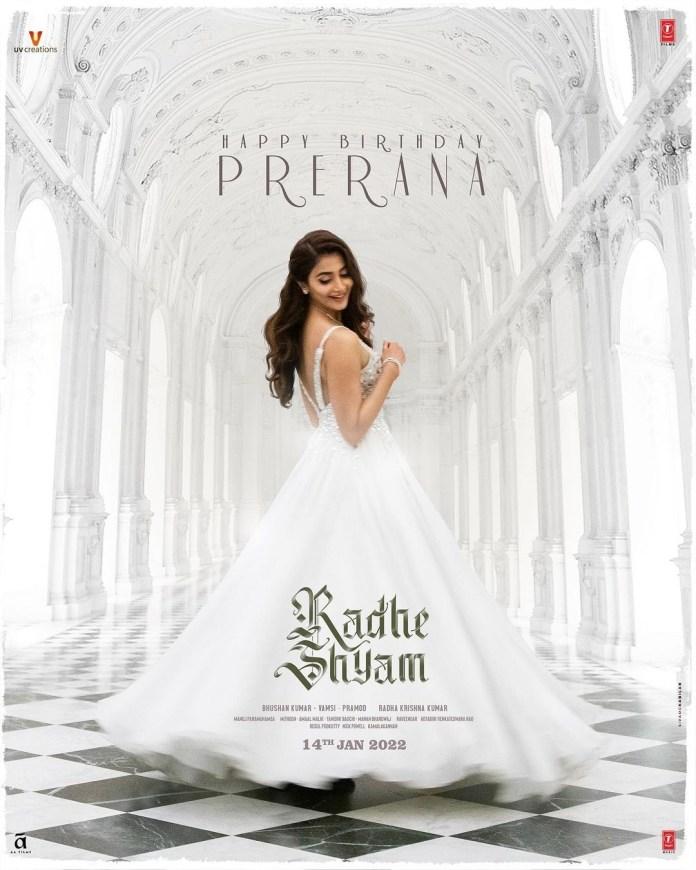 Prabhas needs Pooja Hegde with a brand new Radhe Shyam poster - T