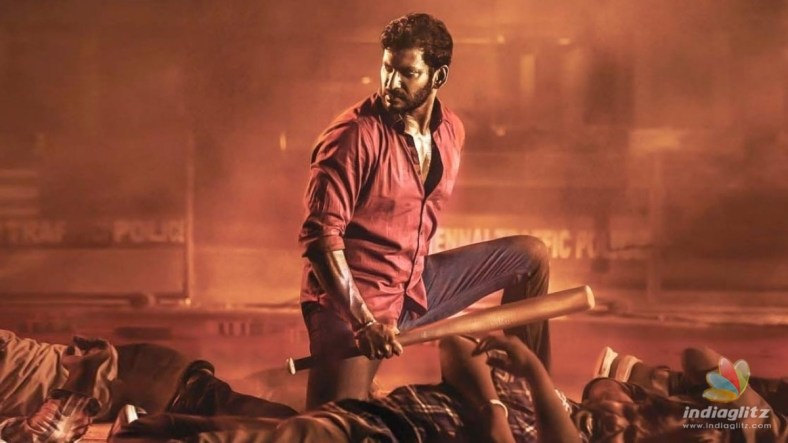 Vishal launches the second look of his 'Veeramae Vaagai Soodum' with the release date!