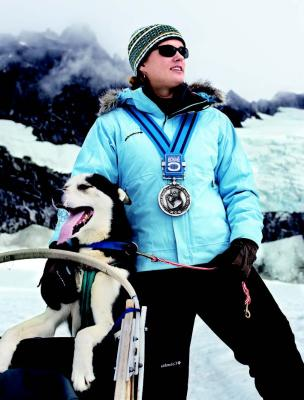 2009-Autumn-Central-Oregon-People-Bend-Rachael-Scdoris-sled-dog-racer