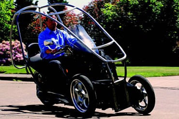 2010-Spring-Oregon-Venture-Portland-Green-Lite-Motors-owner-Tim-Miller-driving-hybrid-vehicle