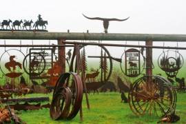 2012-Spring-Oregon-Road-Trip-Willamette-Valley-Highway-99-metal-art-gallery