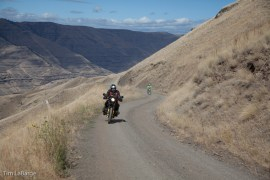 2013-July-August-Oregon-Travel-Explore-Eastern-Oregon-Tim-Labarge-Riding-Through-Mountains