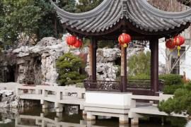 lan su chinese garden, portland
