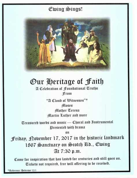 Ewing Sings! Our Heritage of Faith