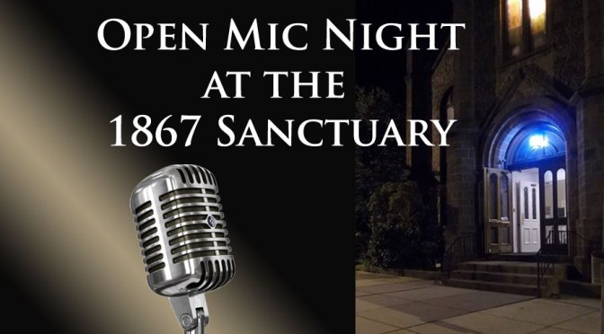<b>Open Mic Night</b><br>Friday, February 28 — 7:00 PM