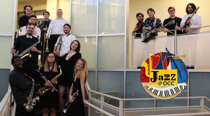 <b>Ocean County College Jazz Band</b><br>Sunday, April 28 — 3:00 PM