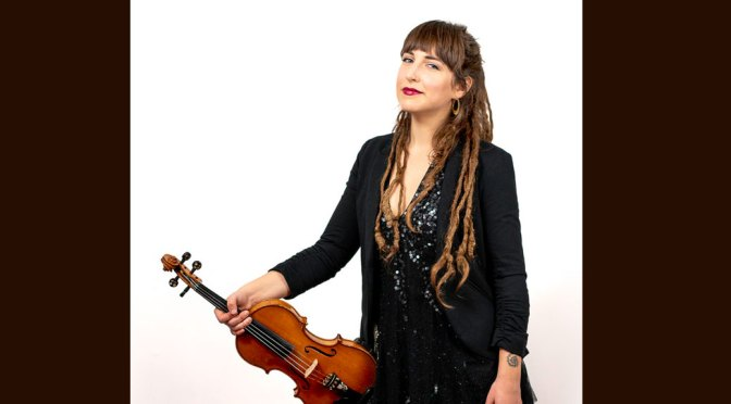 <b>Emerald Rae, Fiddler & Folksinger, with Fish Harmonics</b><br>Saturday, April 27 — 2:00 PM