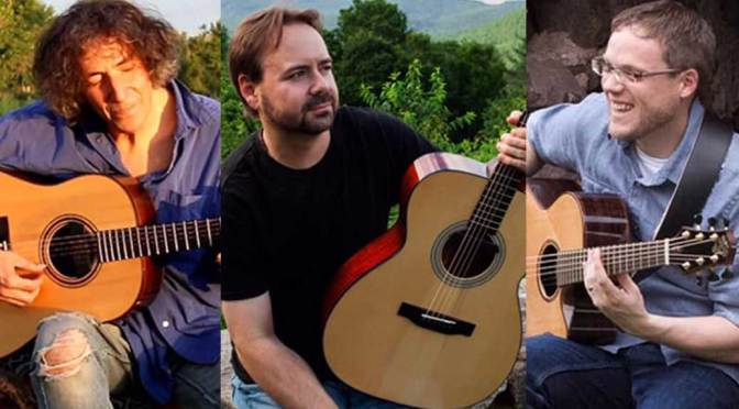 <b>Acoustic Guitar Night with Michael Gulezian, Vin Downes, and Trevor Gordon Hall</b><br>Wednesday, June 12 — 8:00 PM