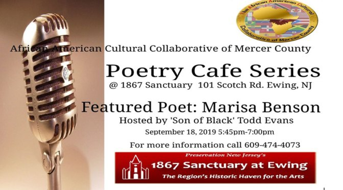 <b>TAACC Poetry Cafe</b><br>Wednesday, September 18 — 5:30 — 7:00 PM