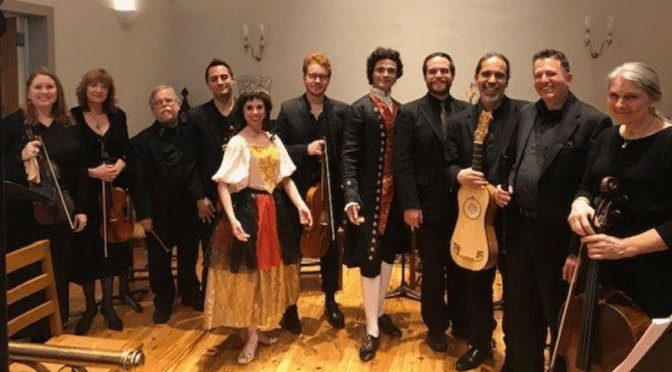 """<b>La Fiocco: """"Stravaganza in Eco: A 17th-Century Festival from Venice & Saxony""""</b><br>Saturday, October 26 — 7:30 PM"""