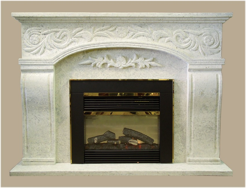 Stone Electric Fireplace Concord Infrared Media Electric