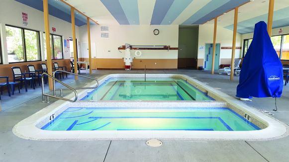 Soaking Pool at Carson hot springs
