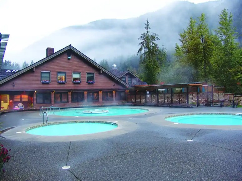 Sol Duc Hot Springs photo by Aramark