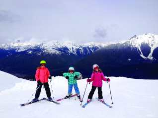 Girls on Mt Baker / Credit: Deanna Sivret