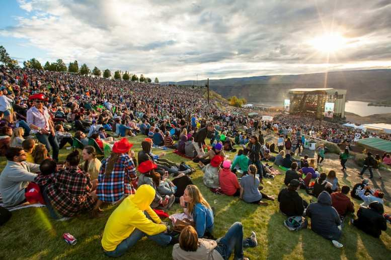 Sasquatch! is a three-day festival on Memorial Day weekend that takes place at the Gorge Amphitheater.