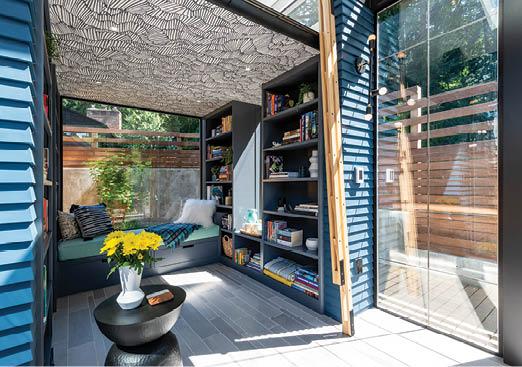 backyard reading room