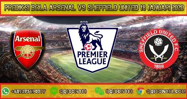 Prediksi Bola Arsenal vs Sheffield United 18 Januari 2020