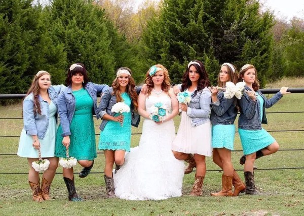 Country Wedding Attire Ideas