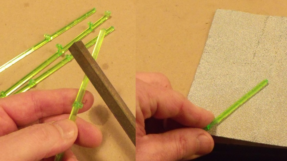 file or sandpaper