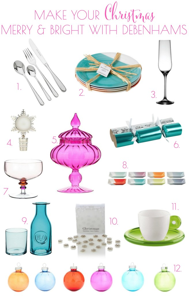18 chelsea mews. merry and bright christmas with debenhams