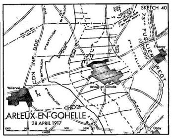 Arleux-map