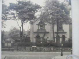 46 Park Road Pendleton. Destroyed. about 40 Houses were built on site of house and garden, Lived there late 40s