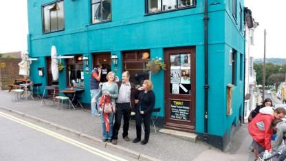 outside pub