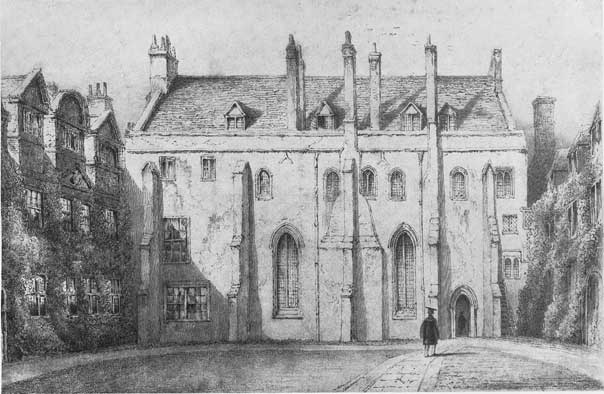 Gray's rooms at Pembroke College
