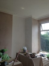 Sealing the plaster