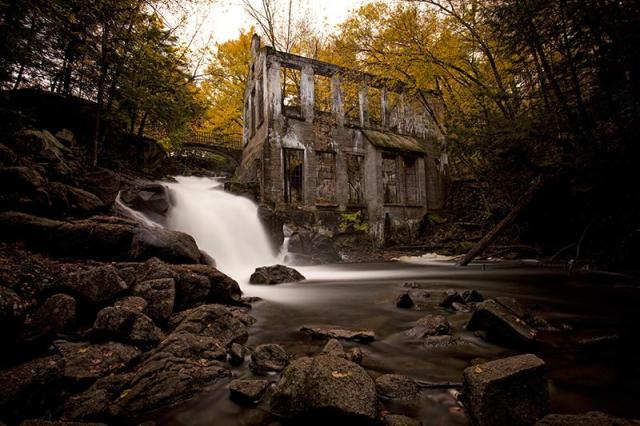 """Carbide"" Willson ruins"