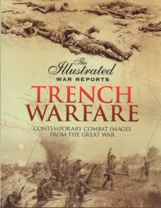 Book cover of The Illustrated War Reports Trench Warfare by Bob Carruthers