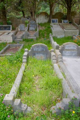 Druscilla Cooper's grave - before photo