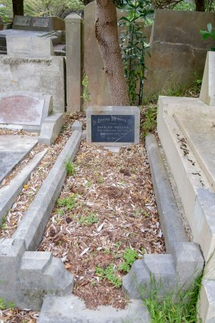 Charles Rogers' grave