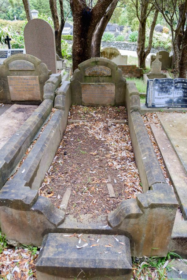 Gertrude & Baby Fitzgerald's grave