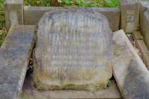 James Ward's plaque