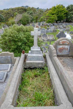 Margaret Beagley's grave