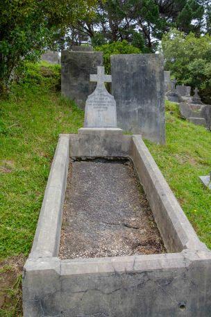 Joseph Quirk's grave