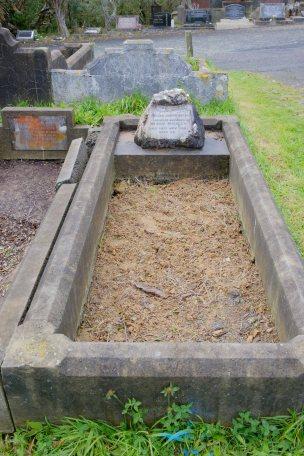 William Buckley's grave