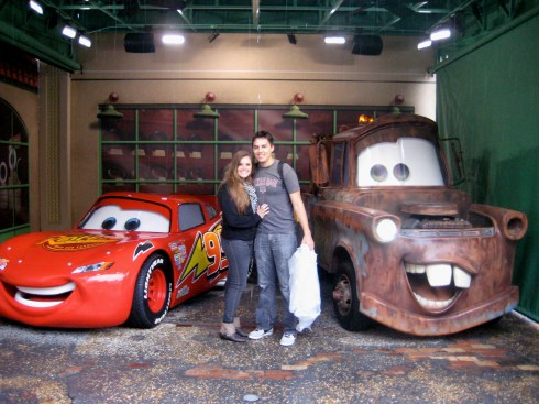 Meeting the stars of cars in 2010