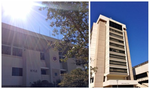 Kyle Field & Rudder Tower haven't changed at all, but I still loved seeing them. I made some of my best memories at organization meetings for MSC FISH and Abbott in Rudder Tower. Kyle Field, I actually don't have many fond memories in. Funny memories there include when Louis got thrown up on before we left early (2%ers) and a bird pooped on him.