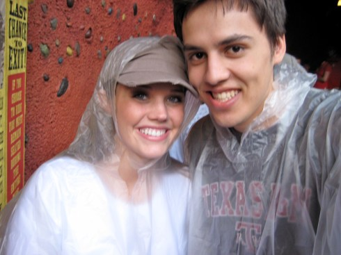 Rocking ponchos in 2008