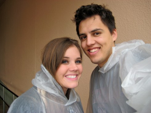Ponchos are still essential in 2012