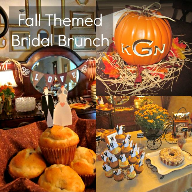 Fall Themed Bridal Brunch