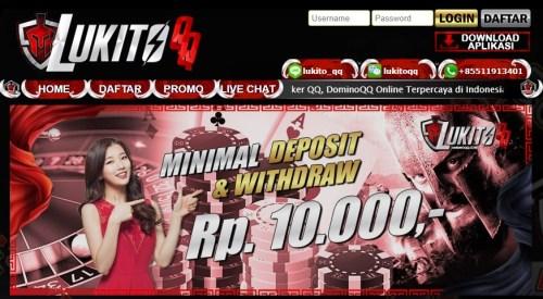 Daftar LukitoQQ Agen DominoQQ Online Uang Asli