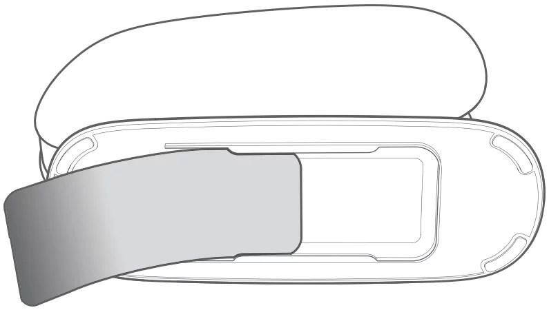 Imagem que mostra o cartão com informações de login do roteador belkin