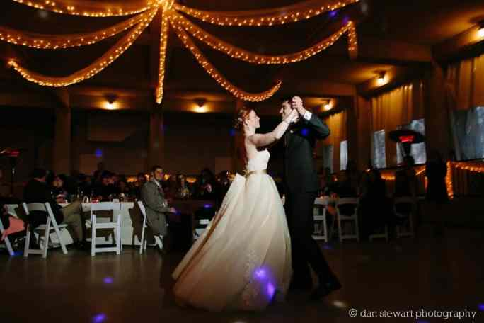 Twinkle Lights inside of 8 Panels of White Tulle Fabric