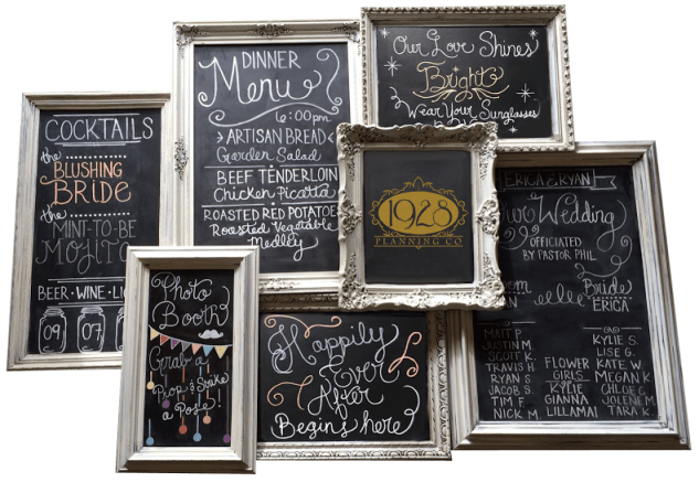 Chalkboard Collage Pic