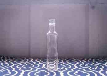 Skinny Clear Glass Vases